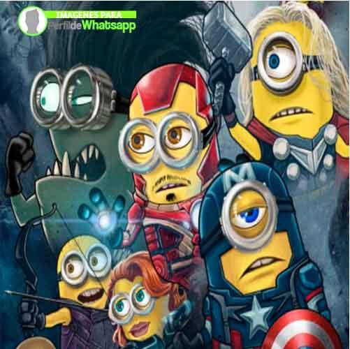 Imágenes de Minions Avengers (3)